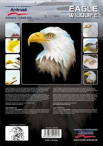 Details about HARDER & STEENBECK AIRBRUSH STENCILS - EAGLE WILDLIFE