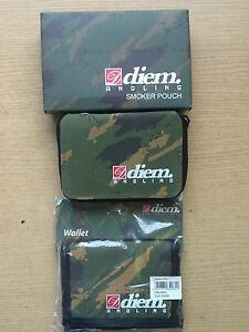diem smokers pouch and wallet in camo carp fishing hunting adventure tobacco - Staines, United Kingdom - diem smokers pouch and wallet in camo carp fishing hunting adventure tobacco - Staines, United Kingdom