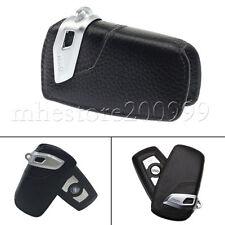Genuine BMW OEM Key Fob Holder Bag Cover Case BLACK 1 3 4 5 6 7 Series X3