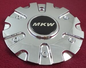 AVE by MKW Wheels Chrome Custom Wheel Center Cap Caps Set 4 # C-022