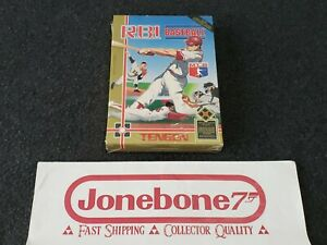 NES-Nintendo-R-B-I-RBI-BASEBALL-Brand-New-Factory-Sealed-Game-TENGEN