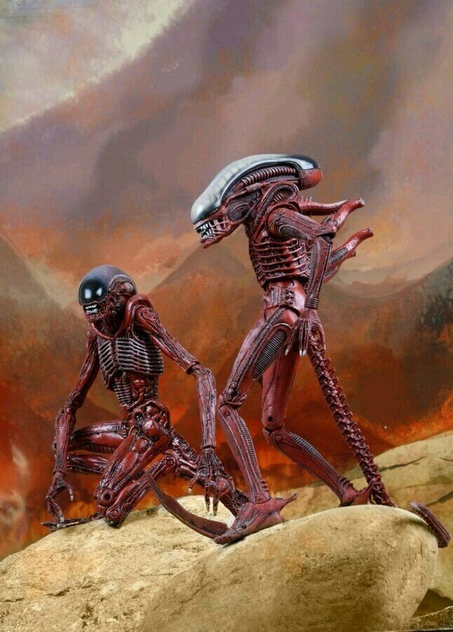 Aliens  Genocide gree Chap & Dog Alien 7 azione cifra 2 PackNEC51625