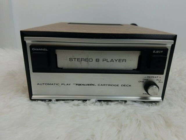 Realistic Stereo 8 Track Player tape deck TR-175B parts only!