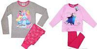 Girls Disney Frozen Elsa Anna Princess Nightie Nightdress Character Nightwear