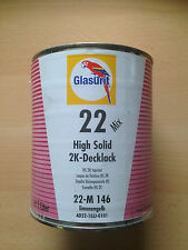 GLASURIT 22 Mix HS-2K-Decklack 22-M 146 Limonengelb, 1 Liter