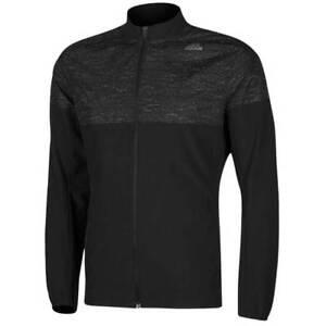 Maenner-Neu-adidas-Laufjacke-Trainingsjacke-Jacken-Jacket-Sweatshirt-Schwarz