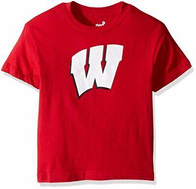 Outerstuff NCAA Kids Wisconsin Badgers Squard Combo Shirt Pack Grey