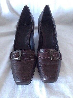 Para Mujeres Marrón K Zapatos Talla 6