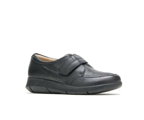 Hush Puppies BELIEVE MARDIE BLACK LEATHER Women/'s Loafers