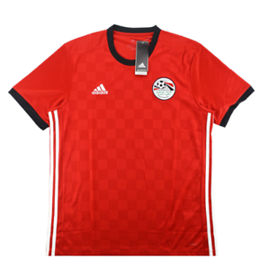 new styles b806c 5768b Details about Egypt National Team Football Soccer Home Jersey World Cup  2018, BNWT, Adidas