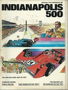 1977-INDY-500-Official-Program-61st-Running-Of-INDIANAPOLIS-Race