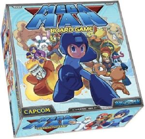Details about Megaman Mega Man The Board Game Family Social Games best  presents gift