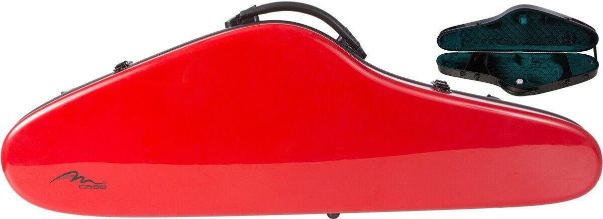 IE Fiberglass violin case SlimFlight 4 4 M-case rot - Grün