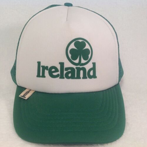 Vintage IRELAND IRISH Hat Mesh SNAP BACK Trucker S