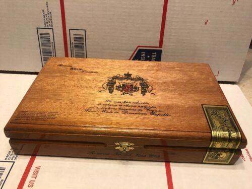 Fuente Anejo Reserva 55 Xtra Viejo Humidor Style Wooden Wood Cigar Box Opus X