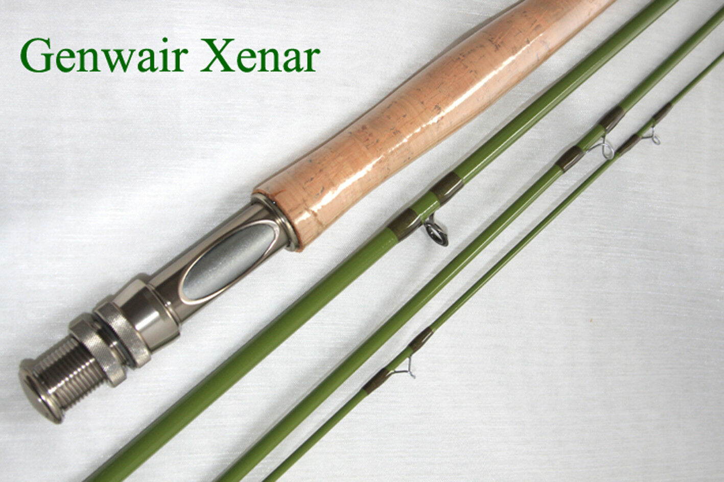Fly Rod Ex Display Genwair Xenar 9 9 9 ft 5/6 wt fly rod Tube Bag & L/time Guarantee 14f5f7