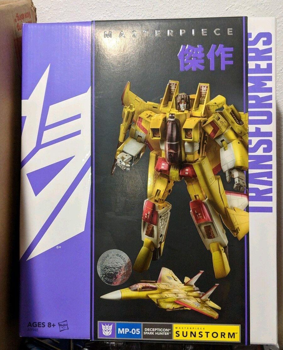 Transformers Masterpiece SUNSTORM MP05 San Diego comicconTRU esclusiva
