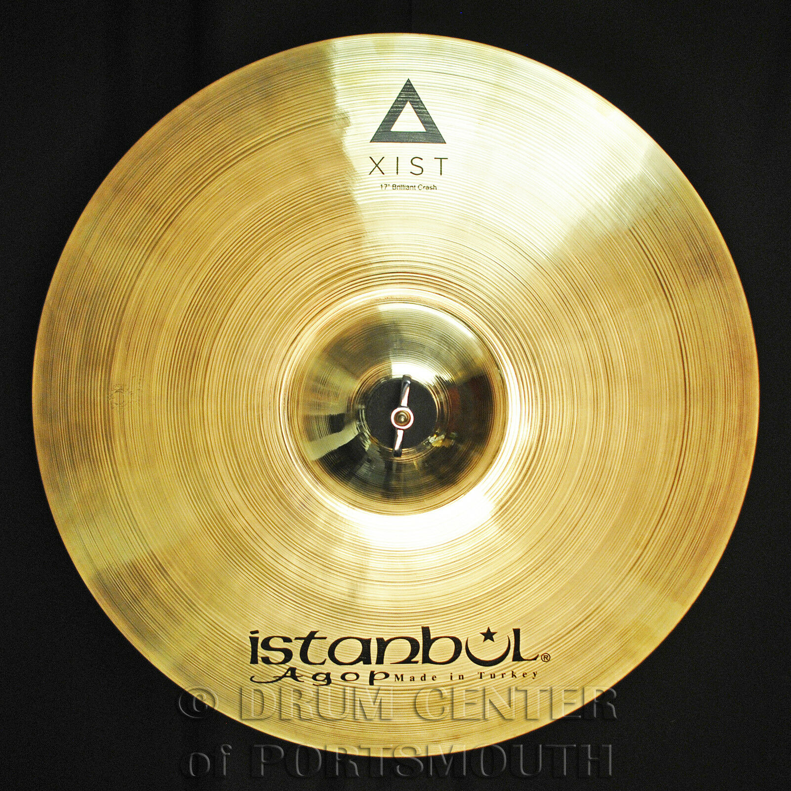 Istanbul Agop Xist Brilliant Crash Cymbal 17