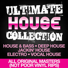 House Music Collection 5 x DVD, DJ Friendly- House & Bass, Jackin, Deep, Electro