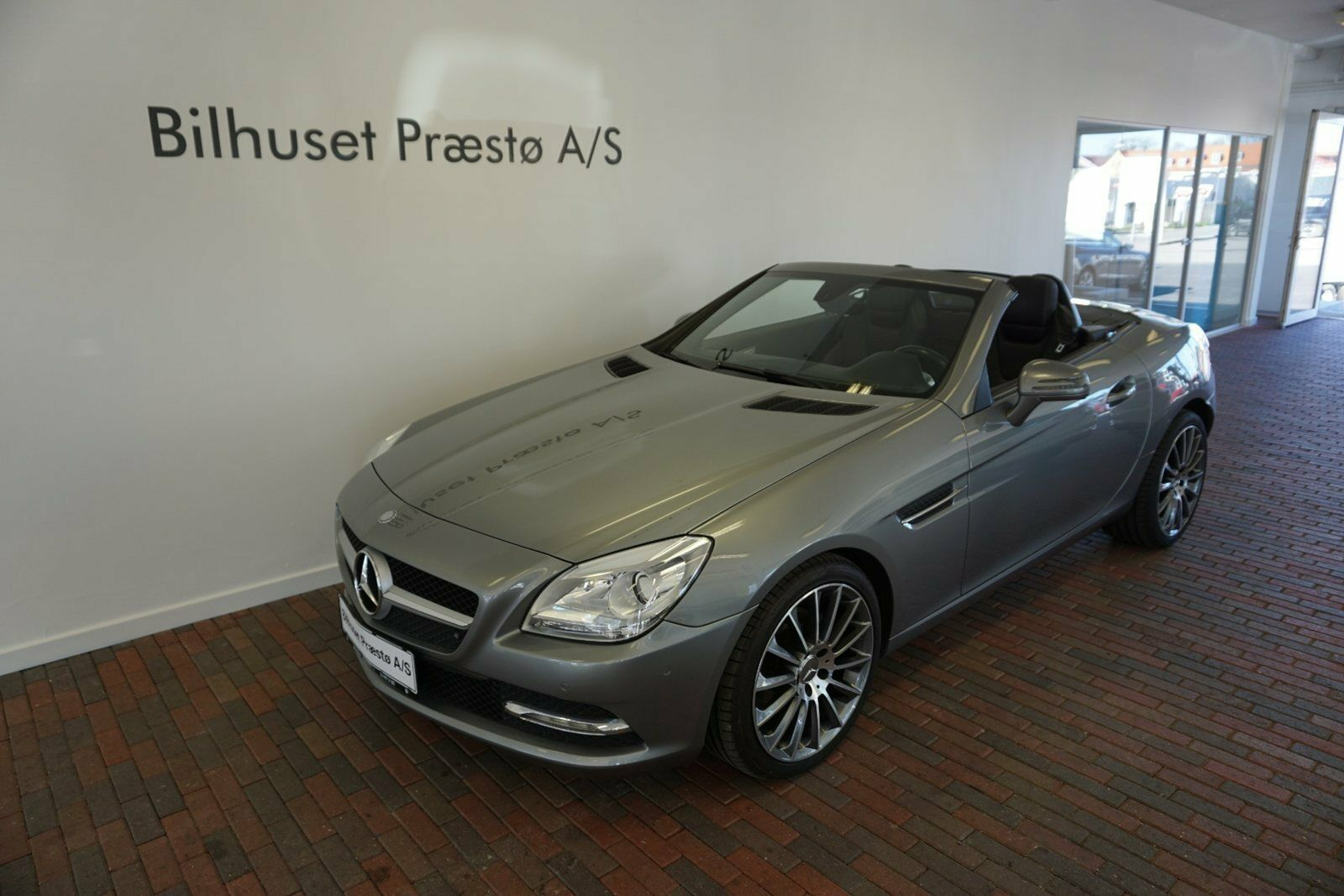 Mercedes SLK200 1,8 aut. BE 2d - 384.900 kr.
