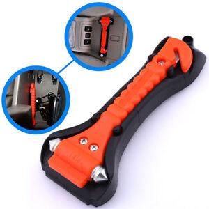 car safety escape glass window breaker emergency hammer seat belt cutter tool xg ebay. Black Bedroom Furniture Sets. Home Design Ideas