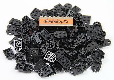 Lego Set//2 Couplage Noir /& Blanc Plate Modified 3x2 with Hole 3176 Coeur Charme
