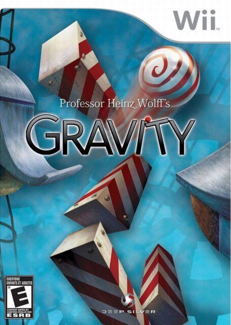 Professor Heinz Wolff's Gravity (Nintendo Wii, 2009) LN WITH Manual LOW SHIPPING