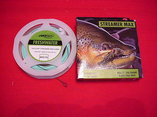 Air Flo Kelly Galloup Streamer Max 30ft Sinking WF 7 8 250 Grain GREAT NEW