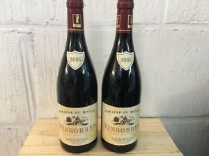 2 bouteilles Vinsobres  Domaine du Moulin Denis Vinon  Millésime 2005