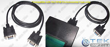 x1 DB9 Serial Cable for HP48 Environmental Case (HP 48GX 48SX 48G+ 48G 48S) USA