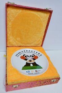 WBC-WORLD-BOXING-Championship-Plate-Dish-2008-Commemorative-HAHANI-Orig-Box-RARE