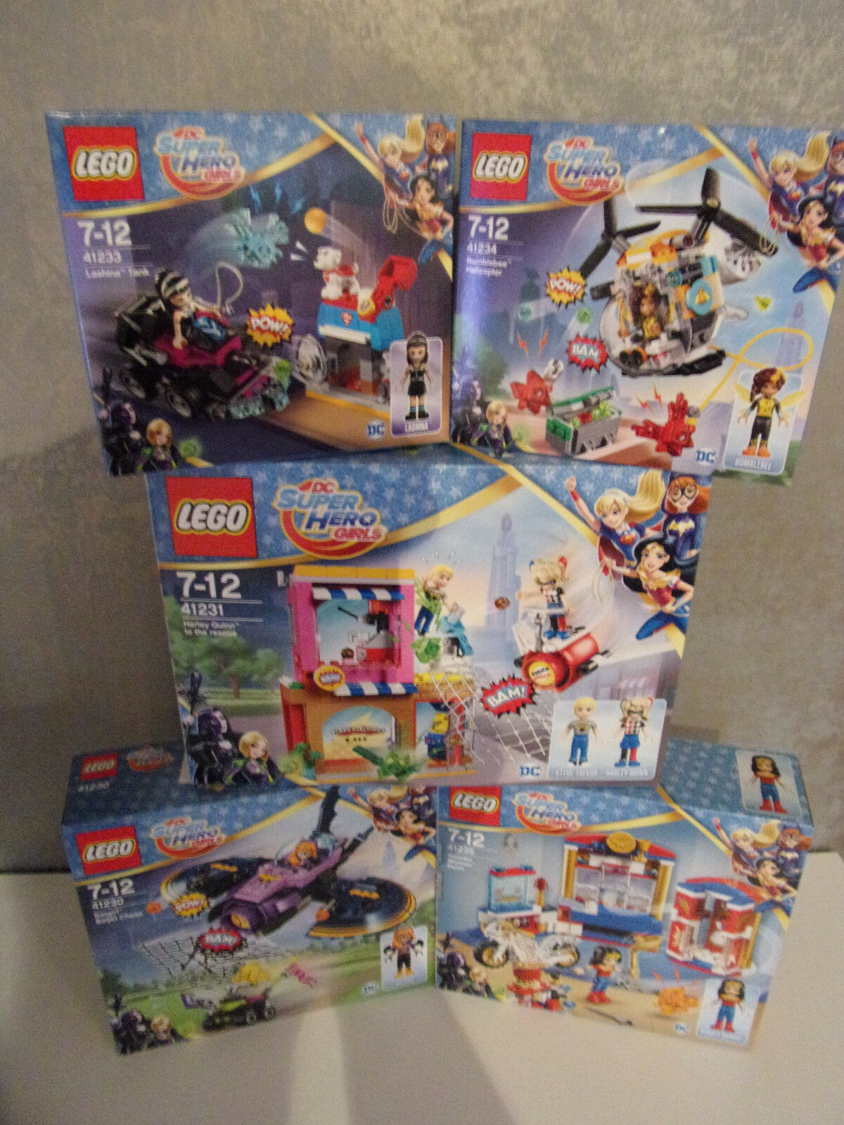 Lego Dc Super Hero Girls - Set's for Selection - Nip
