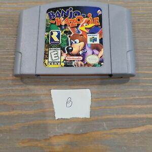 N64-1998-Banjo-Kazooie-Banjo-Kazooie-Nintendo-64-Video-Game-Cartridge-Only-B