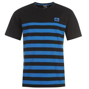 Tee-shirt-LONSDALE-noir-bleu-modele-034-YD-Crew-034-Du-S-au-XXXL-Taille-grand