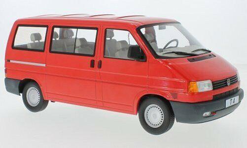 KK-SCALE VW Bus T4 Caravelle 1992  rouge 1 18 180261