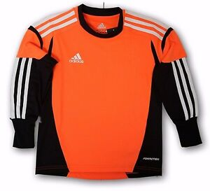 Image is loading adidas-Condivo-12-Infants-Goalkeeper-Jersey-Orange-Black- 8a55a73e0425