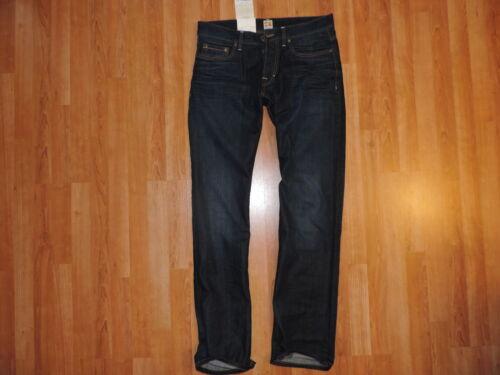 Hugo Boss Jeans Dark Blue Orange 30 x34 New Regular Fit