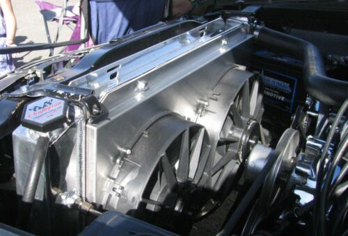 1983 1984 1985 1986 1987 1988 1989 1990 1991 1992-93 Mustang 3 Row WR Radiator