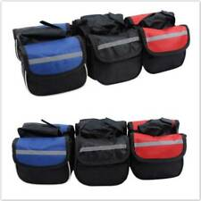 Bicycle Front Bags Waterproof Phone Bag Case Bike Tube Handlebar Cylinder Bag WE