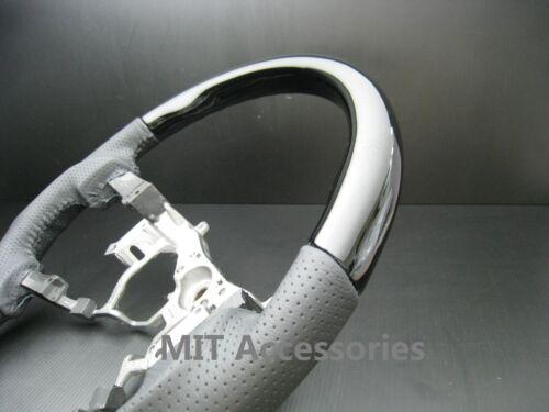 MIT Toyota TUNDRA 2nd Gen 07-13 Black Piano genuine leather steering wheel-SPORT
