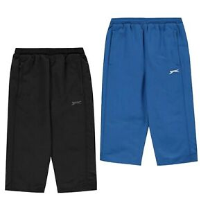 Garcons-Slazenger-Leger-trois-quart-SL-Tisse-Shorts-Tailles-7-To-13