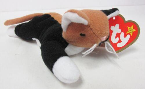 Ty Teenie Beanie Baby Chip Calico Cat # 12 of 12 1999 Series PRISTINE Brand New