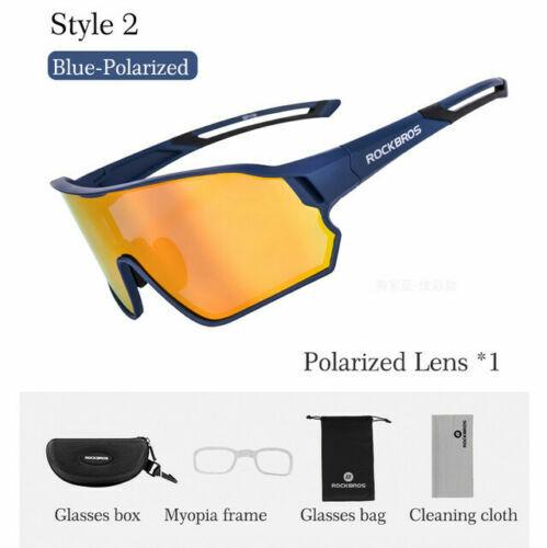 UK STOCK STRockBros Cycling Photochromatic Polarized Glasses Eyewear Sunglasses