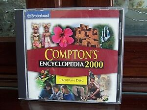 Broderbund-Compton-039-s-Encyclopedia-2000-PC-CD-ROM