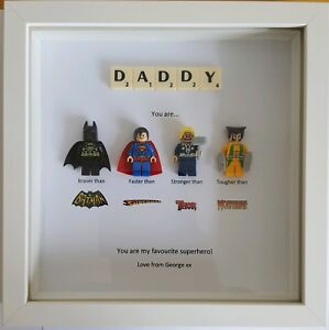 16b3685de Image is loading PERSONALISED-DADDY-SUPERHERO-FRAME-BIRTHDAY-GIFT-UNCLE-DAD-