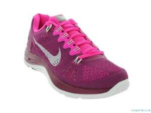 online retailer 401d0 67c8c Details about Nike Lunarglide 5 WOMENS Deep Pink/White Running Shoes -  Authentic & IN STOCK