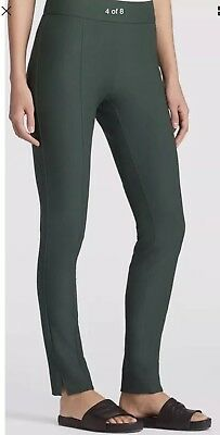 NWT Retail $178 Washable Stretch Crepe Slim Pants F7TK-P3785 EILEEN FISHER