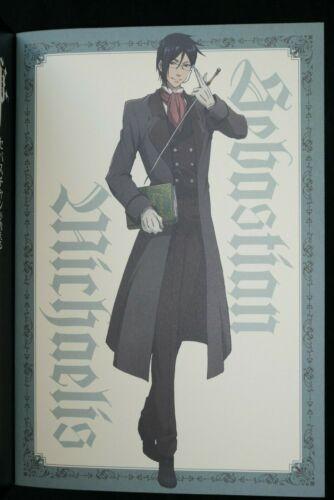 JAPAN TV Anime Black Butler Kuroshitsuji Sebastian/'s loved lady/'s manner Book