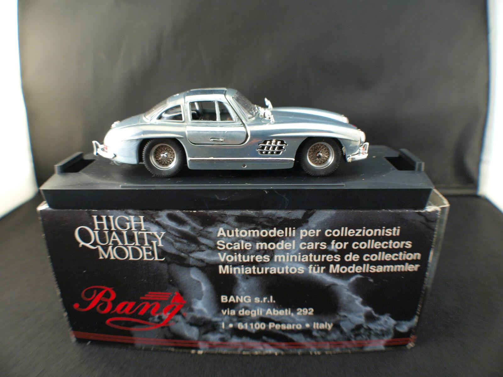 Bang 1018 Mercedes 300 SL Gullwing Hand Polished Polished Polished neuf en boite 1 43 edn limited 34f2bf