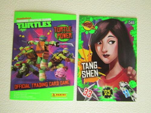e21 Panini Nickleodeon 2013 ~ Teenage Mutant Ninja Turtles Trade Card Variants